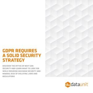 DataUnit security whitepaper