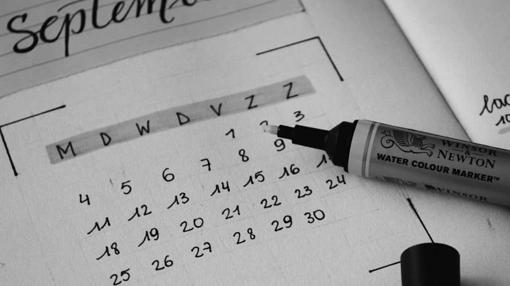 Splend contentkalender in 1 dag